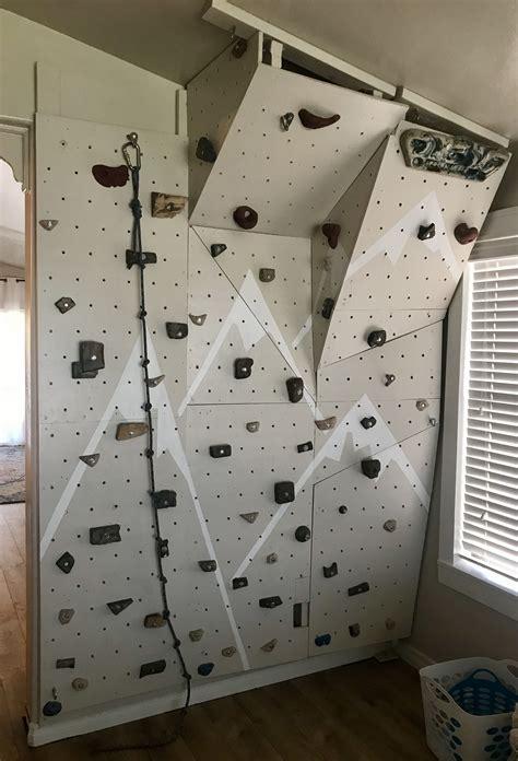 Indoor-Rock-Wall-Diy