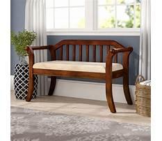 Best Indoor decorative wooden benches