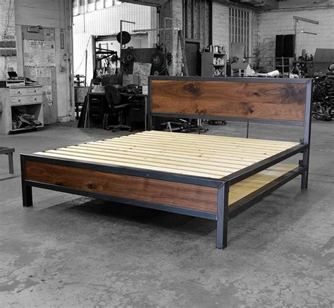 Industrial Bed Frame Diy Ideas