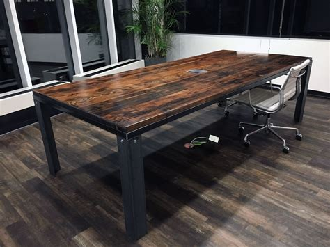 Industrial Conference Table Diy