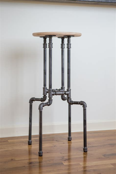 Industrial Pipe Bar Stools Diy
