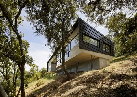 Industrial Style House Plans For Steep Slopes