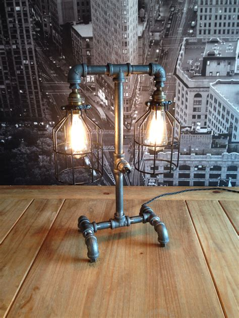 Industrial Table Lamp Diy