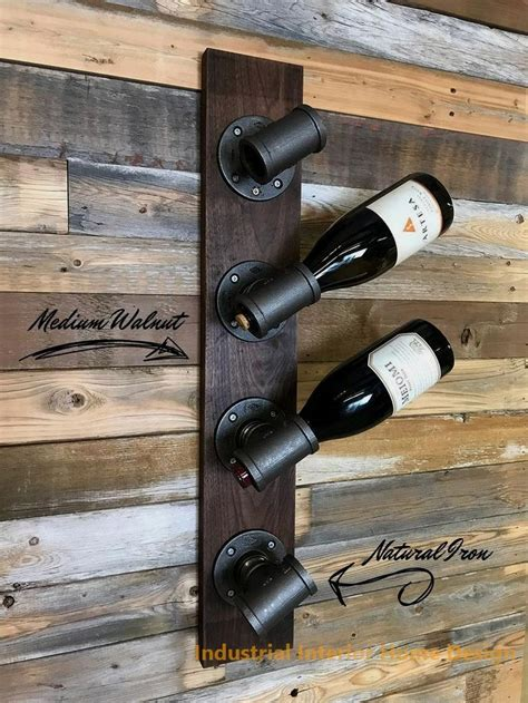 Industrial Wine Rack Diy Plans