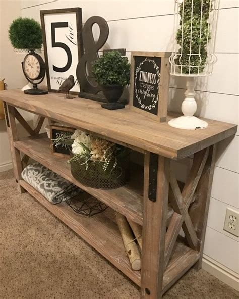 Industrial-Farmhouse-Entry-Table