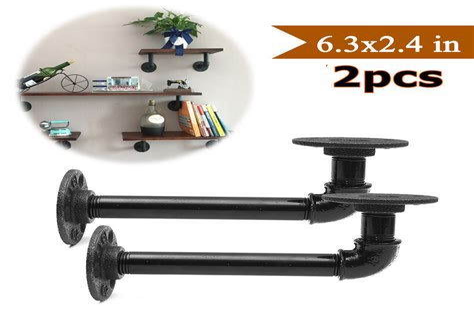 Industrial-Pipe-Shelf-Brackets-Diy