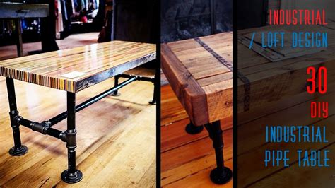 Industrial-Pipe-Table-Diy