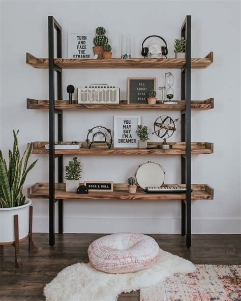 Industrial-Style-Bookcase-Diy