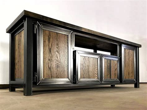 Industrial-Style-Media-Console