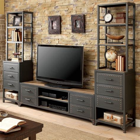 Industrial-Style-Tv-Stand