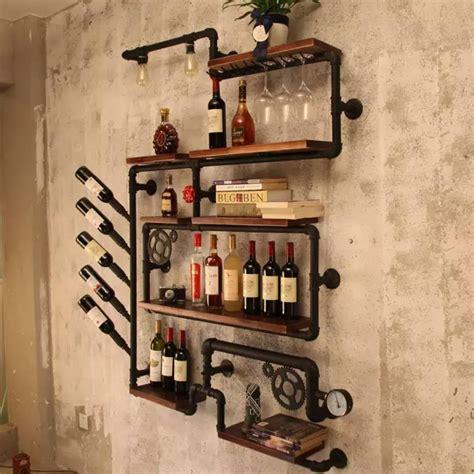 Industrial-Wine-Rack-Diy