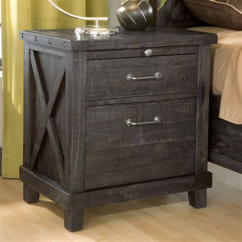 Industrial-Wood-Nightstand