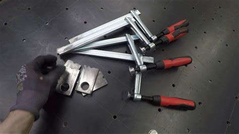 Inexpensive Diy Fab Table Clamps