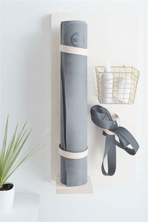 Inexpensive Yoga Mat Rack Diy Slime