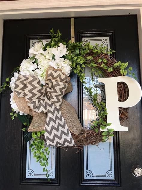 Initial-Wreaths-For-Front-Door-Diy