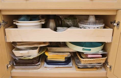 Install Drawers In Kitchen Cabinets