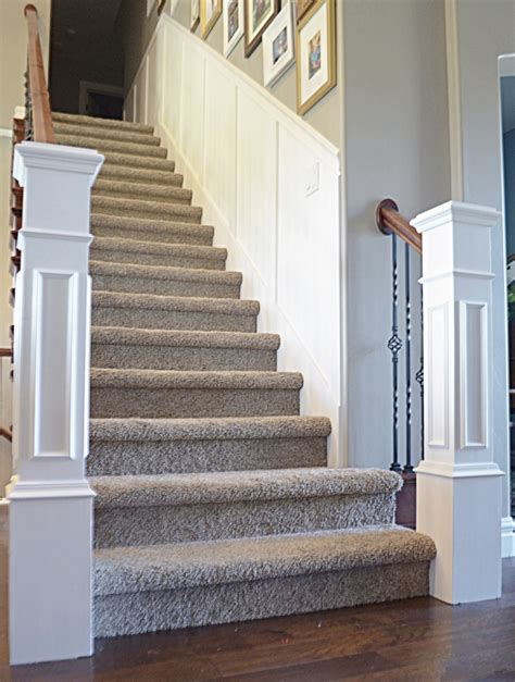 Install Stair Trim Moulding
