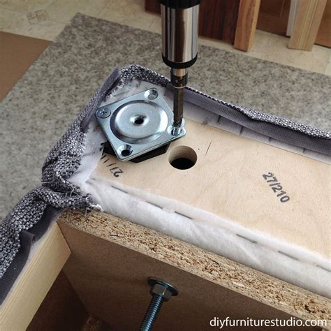 Installing Couch Legs