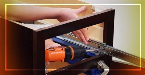 Installing Drawer Slides Face Frame Cabinets