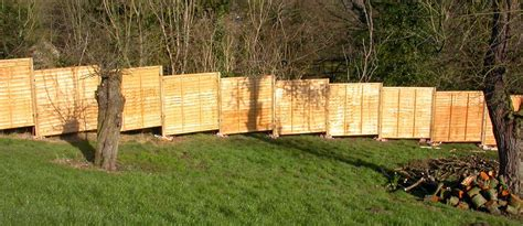 Installing Wood Fence Panels On Slope