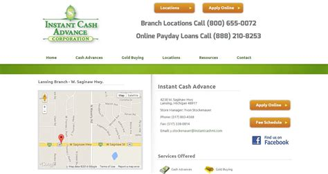 Instant Cash Advance