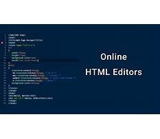 Best Instock html editor