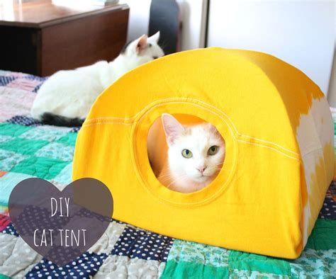 Instructables Diy Cat Tent