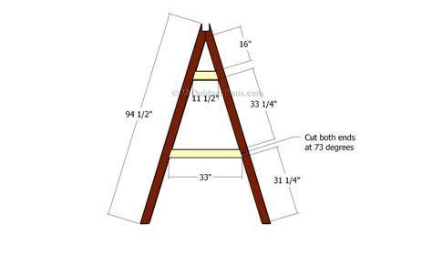 Instructions For A frame Swing Set Plans