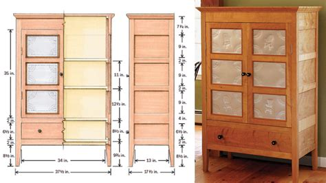 Instructions On How To Build A Pie Safe