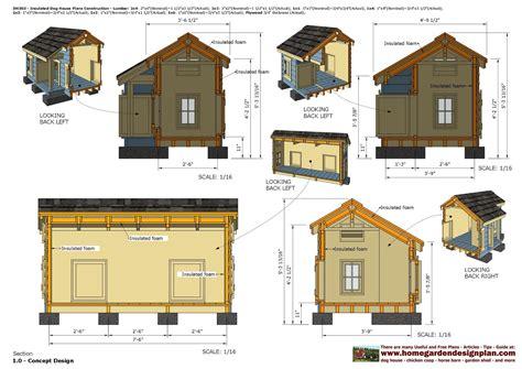 Insulated-Dog-House-Floor-Plans