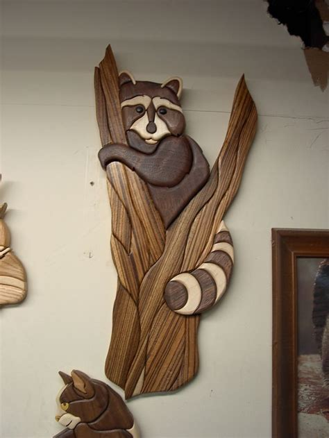 Intarsia Woodworking Art For Sale