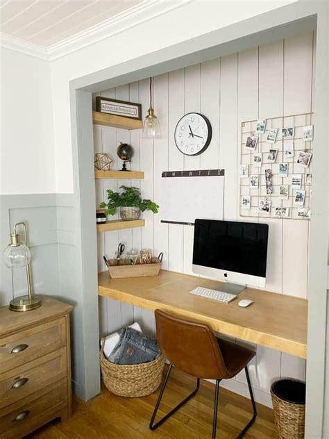 Integrated-Closet-And-Desk-Diy
