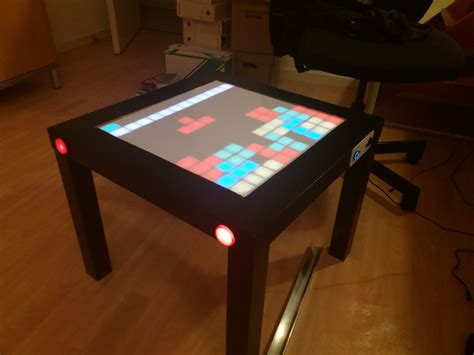 Interactive Led Table Diy For 3d