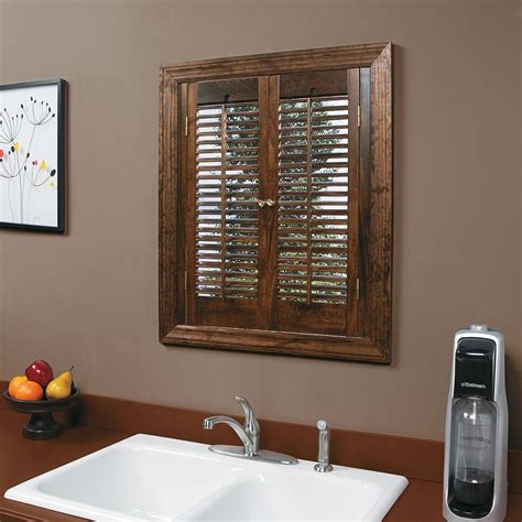 Interior Wood Shutters Discount