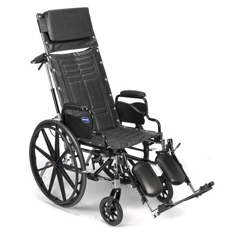 Invacare Reclining Back Wheelchair