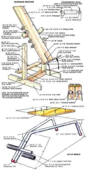 Inversion-Table-Plans
