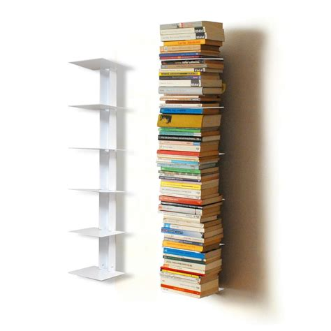 Invisible-Bookshelf-Tower-Diy