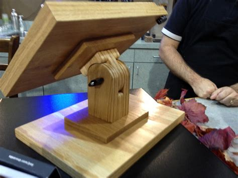 Ipad Shelf Woodworking Plan