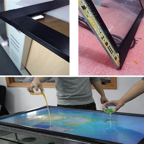 Ir Multi Touch Frame Diy Projects