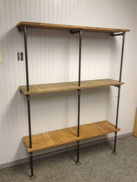 Iron Pipe Shelf Plans