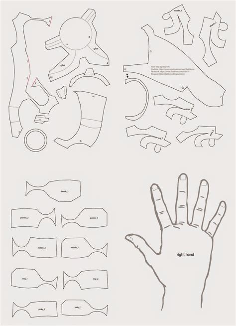 Iron-Man-Hand-Diy-With-Cereal-Box-Free-Pdf-Template
