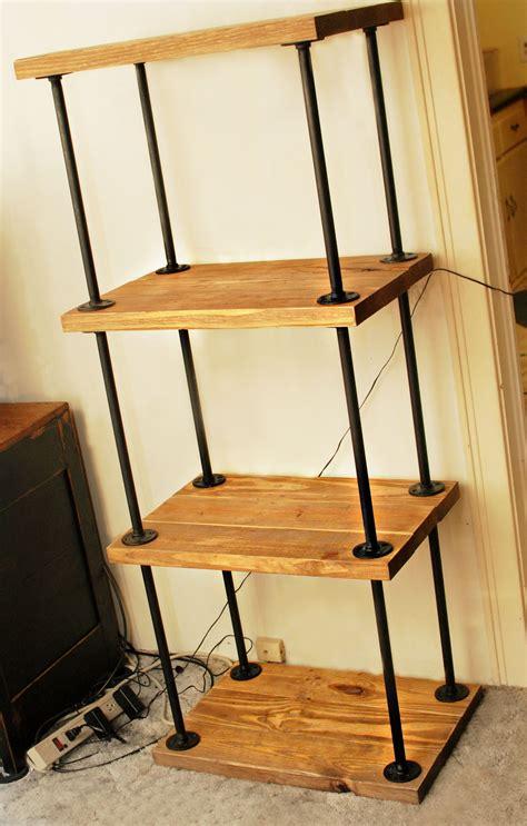 Iron-Pipe-Bookshelf-Diy