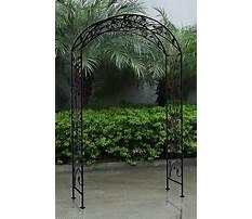 Best Iron garden archway