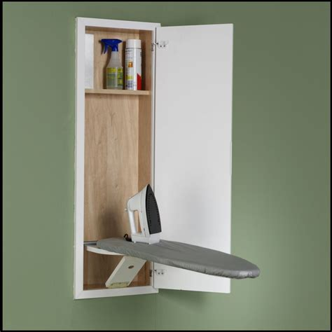 Ironing Board Hideaway Cabinet Plans