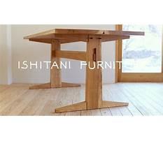 Best Ishitani making a kigumi table