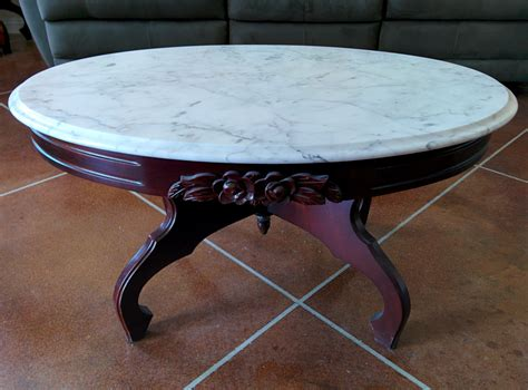 Italian marble coffee and end tables Image