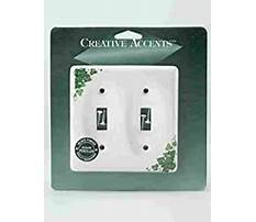 Best Ivy porcelain two rocker wall plate cover