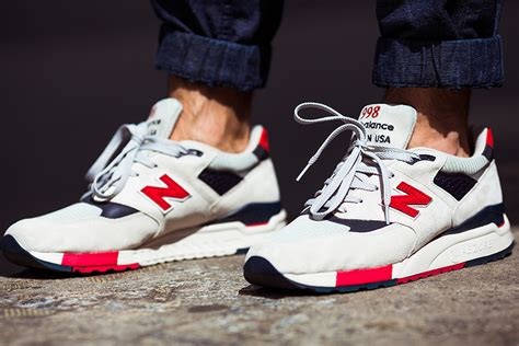 J.crew X New Balance 998 Independence Day Sneakers