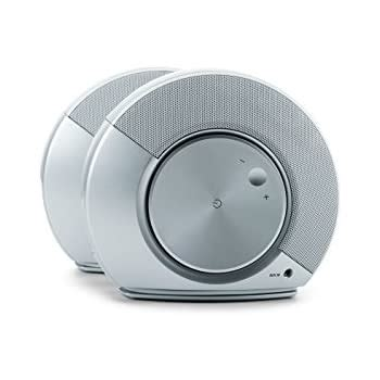 JBL Pebbles 2.0 Speaker System, Silver/White(2 Pieces)