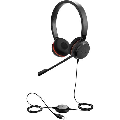 Jabra Evolve 30 UC stereo Headset, Black (5399-829-209)